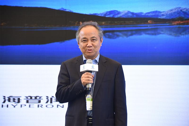 北京海普润膜科技有限公司董事长刘必前发言