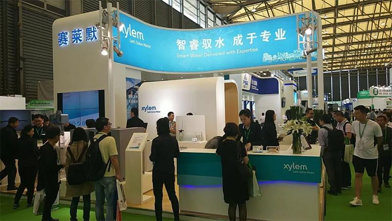 赛莱默展台全面呈现赛莱默为中国市政、建筑、工业等领域提供的专业水和污水解决方案。