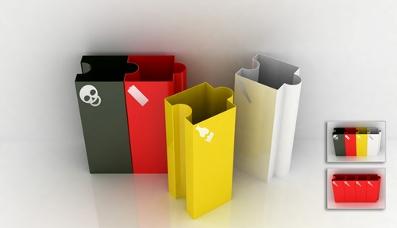 """""""乐 色起义""""创意垃圾桶设计大赛获奖作品品评"""