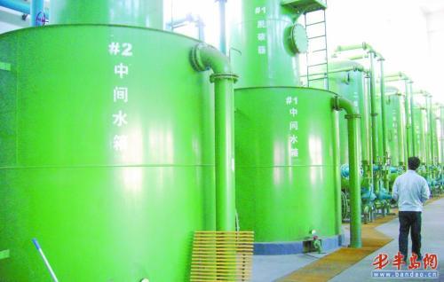 青岛供热烧上淡化海水 海水年利用12亿立方米