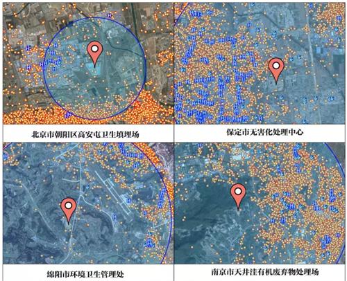 全国城市垃圾填埋场的恶臭影响了多少人?