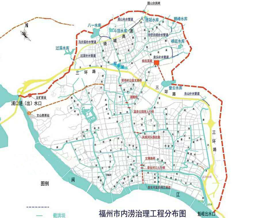 中国五湖四海地图