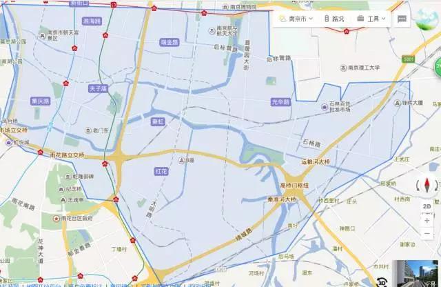 秦淮区地图