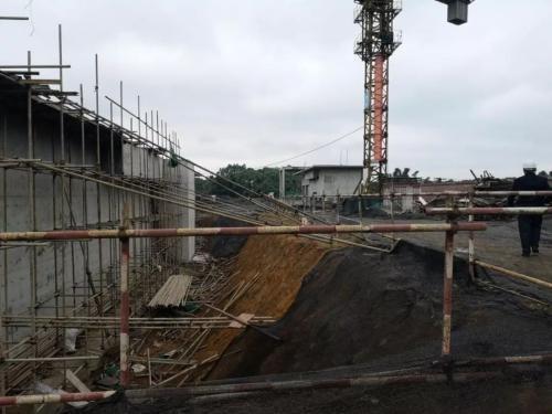 威远县第二污水处理厂还在进行主体建设