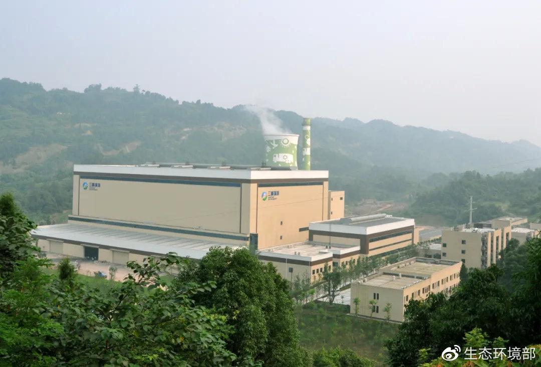 丰盛垃圾发电厂厂区全貌