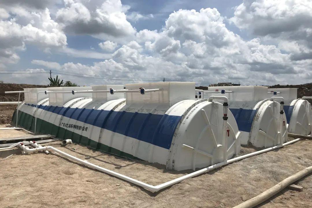 普宁规划建设80座农村污水一体化处理设施