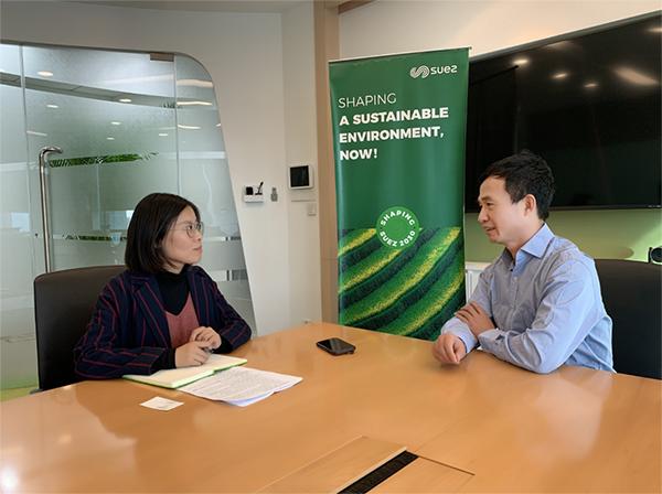 苏伊士新创建水务工程技术总监杨燕华接受中国水网采访