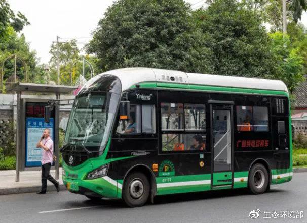 广泛投运的新能源公交车