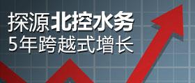 品牌故事01:探源北控水務5年跨越式增長