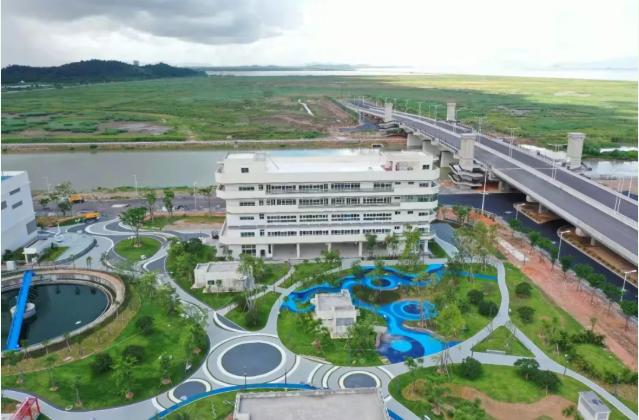 中国电建昆明院承建的珠海首家花园式净水厂竣工