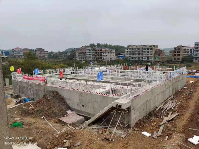 邵阳市加速推进乡镇污水处理设施建设